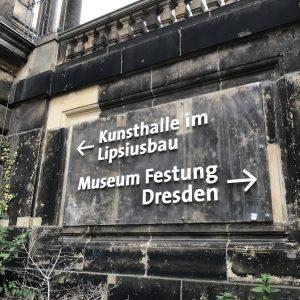 Museum Festung Dresden - Zugang Gewölbetonne