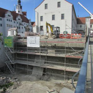 Stadtmauer Schloß Torgau